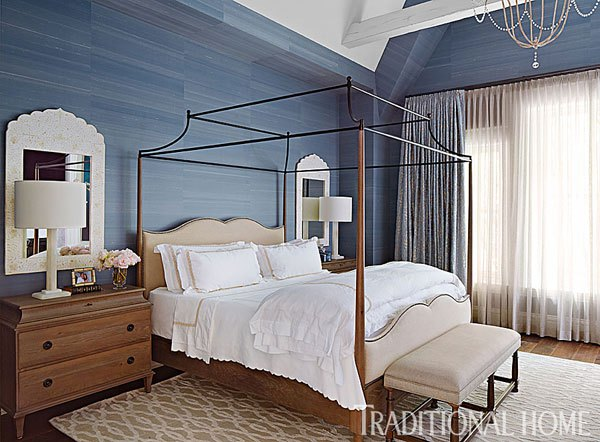 The couple's renovated 1880s brownstone is featured in the latest issue of Traditional Home magazine.