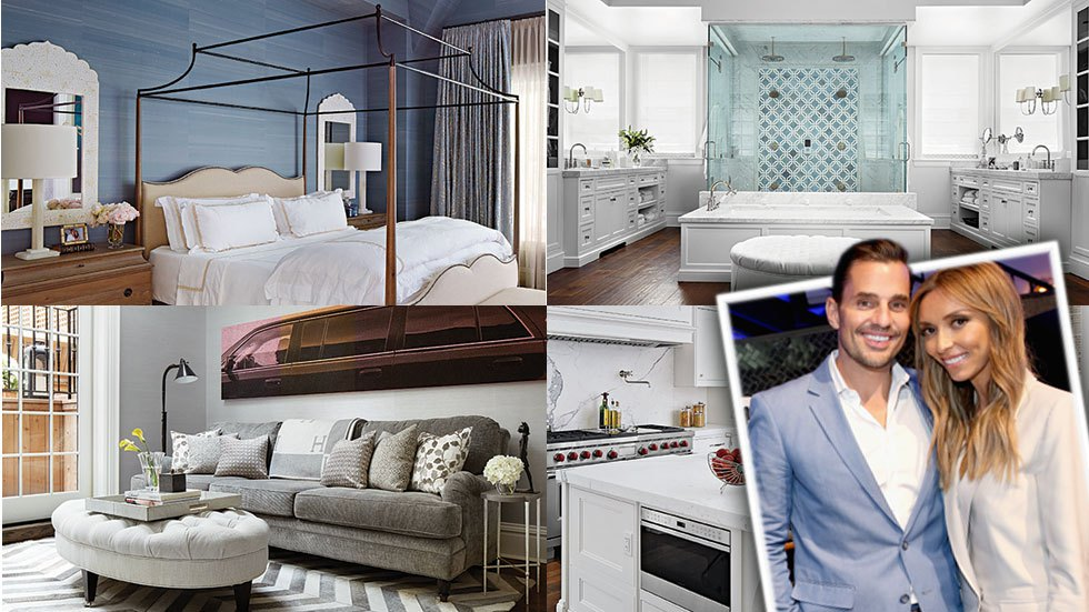Out with the old and in with the new! Bill and Giuliana Rancic are moving on from their Brentwood, California condo and into their brand new Chicago brownstone. From the doorknobs to the drapes, their Windy City home, shared with son Duke, 2, is perfect!