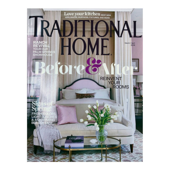 Traditional Home March/April Cover Traditional Home