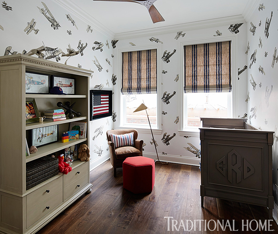 Fabulous Multitasking Nurseries | Traditional Home | Lonni Paul Celebrity Interior Designer